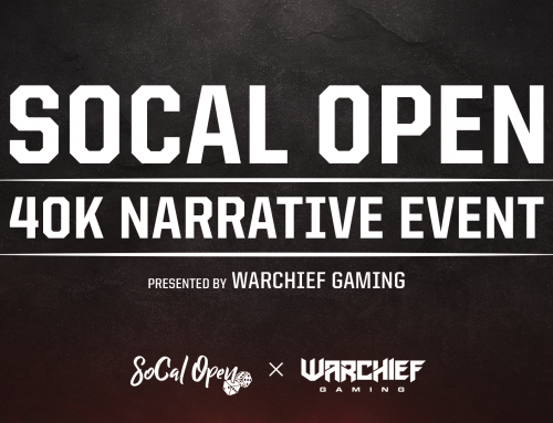 Warchief Gaming Runs the Warhammer 40k Narrative Event for SoCal Open 2020!