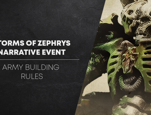 Storms of Zephrys Army Building Rules
